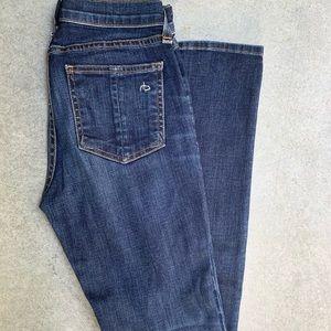 Blue Rag & Bone Skinny Jean SZ 24